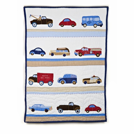 Cars and Trucks Twin Quilt