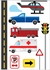 Cars and Trucks Wall Decals