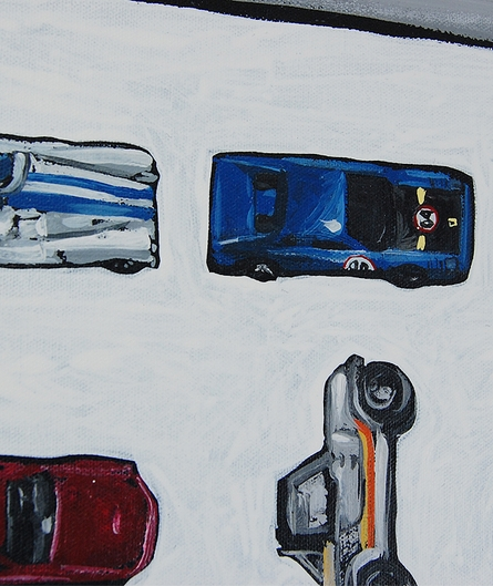 Cars Canvas Reproduction
