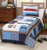 Cars Quilt and Pillow Sham