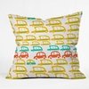 Cars Throw Pillow
