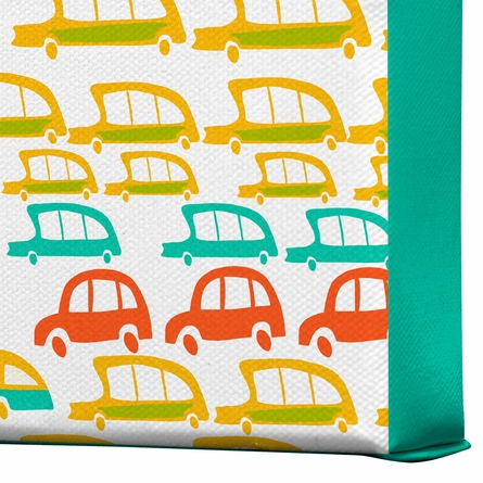 Cars Wrapped Canvas Art