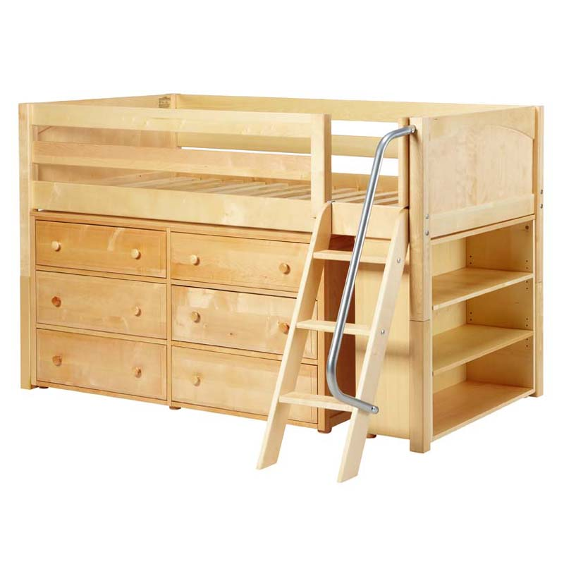 28 beds with dressers great low loft bed with dressers and