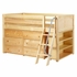 Kicks Low Loft Bed with Dressers and Bookcase