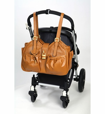 Caryn Caramel Diaper Bag