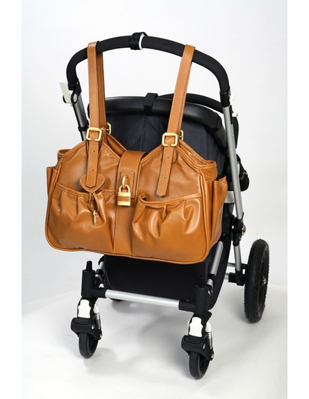 Caryn Fudge Diaper Bag