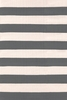 Catamaran Indoor/Outdoor Rug in Graphite and Ivory