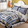 Catch a Wave Quilt with Pillow Sham
