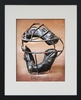 Catcher's Mask Personalized Framed Art Print