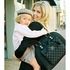 Cate Diaper Tote in Black Tea