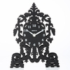 Cathedral Silhouette Metal Table Clock