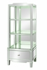 Catherine Mirrored Etagere