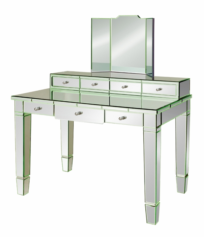 Chelsea Mirrored Vanity Desk By Bungalow 5