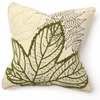 Cedar Grove Leaf Trio Throw Pillow