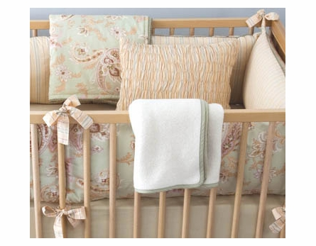 Celery Odile Boys Crib Bedding - 3 Piece Set