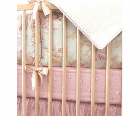 Celery Odile Girls Crib Bedding - 3 Piece Set