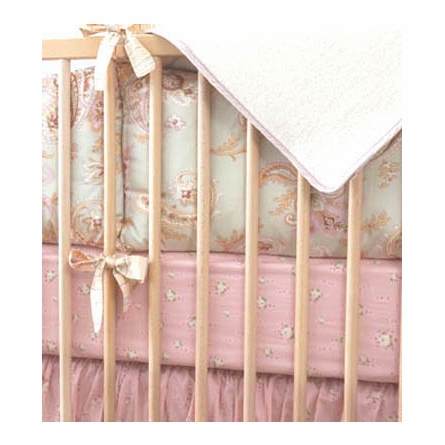 Celery Odile Girls Crib Bedding Set