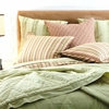 Celery Sateen Coverlet