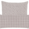 Chadna Grey Square Pillow