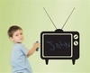 Chalkals - Tune In Peel & Stick Chalkboard Wall Decal