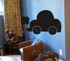 Chalkboard Car Wall Decal