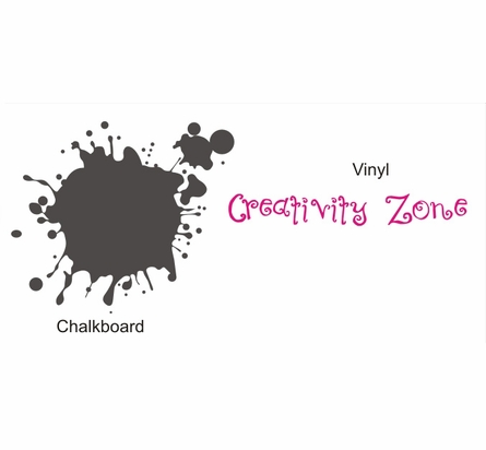 Chalkboard Creativity Zone Wall Decal