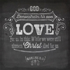 Chalkboard Love Wall Art