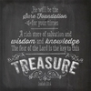 Chalkboard Treasure Wall Art