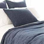 Chambray Linen Ink Duvet Cover