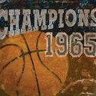 Champions Basketball Canvas Wall Art
