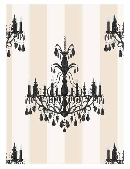 Chandelier Elegance Wall Hanging