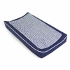 Changing Pad Cover and Topper in Cobalt Blue