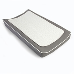 Changing Pad Cover and Topper in Pewter