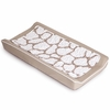 Changing Pad Cover and Topper in Taupe Large Cobblestone