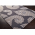 Charcoal and Brindle Paisley Hudson Park Rug