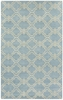 Charisma Tile Rug in Sky Blue