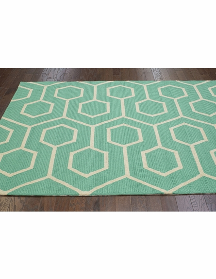 Charles Indoor/Outdoor Rug in Seafoam