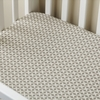 Charleston Grey Crib Sheet