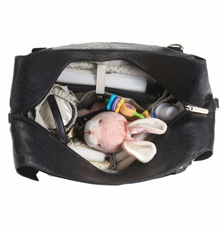 Charlie Diaper Bag - Black
