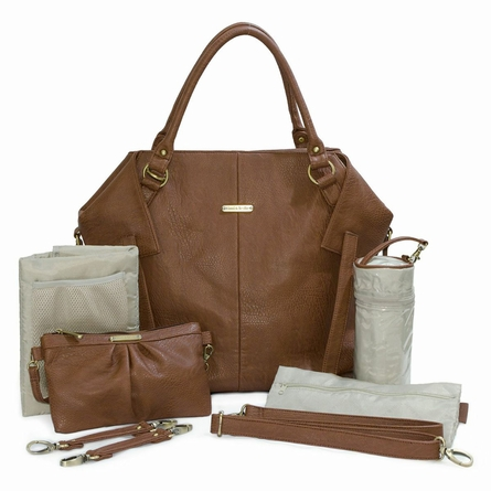 Charlie Diaper Bag - Cinnamon