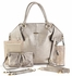 Charlie Diaper Bag - Pewter