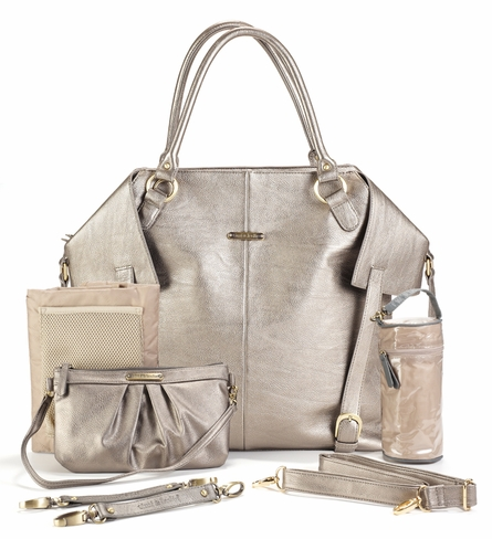 On Sale Charlie Diaper Bag - Pewter