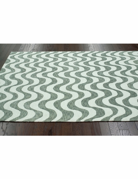 Charm Cotton Rug in Gray
