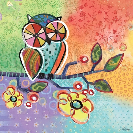 Charmed Owl Canvas Wall Art