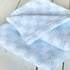 Checkmate Baby Blanket - Pale Blue