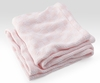 Checkmate Baby Blanket - Pale Pink