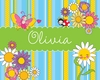 Cheerful Garden Party Canvas Wall Art
