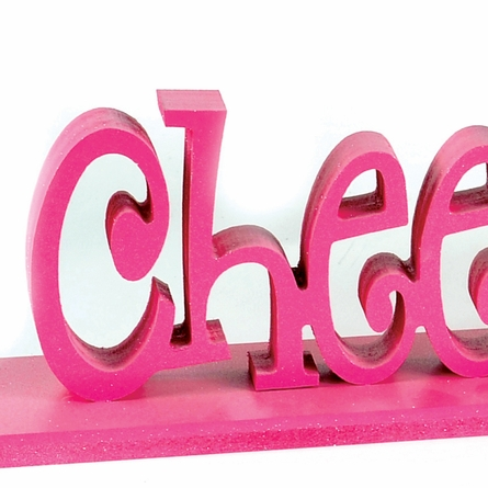 Cheerleader Letter Bookends