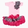 Cheetah Baby Tutu Pink Set