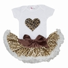 Cheetah Heart Tutu Set
